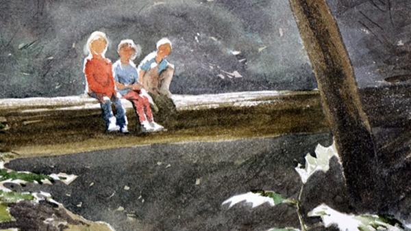 Akvarellmålning, människor - workshop