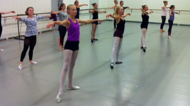Balett,  nivå F1