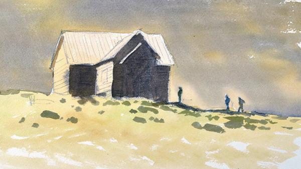 Akvarell grund - workshop 1