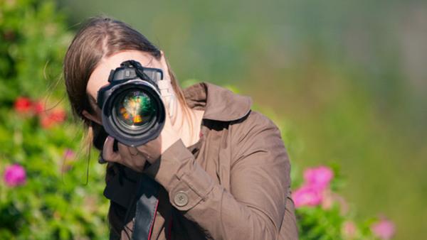 Digital fotografering grund