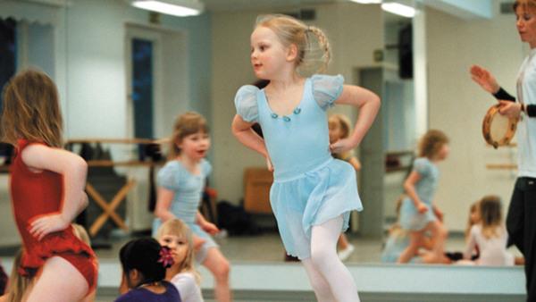 Barndans 4-5 år nybörjare/fortsättning