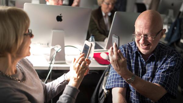 iPhone och iPad för seniorer