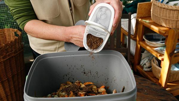 Bokashi kompost - gör jord av ditt matavfall!