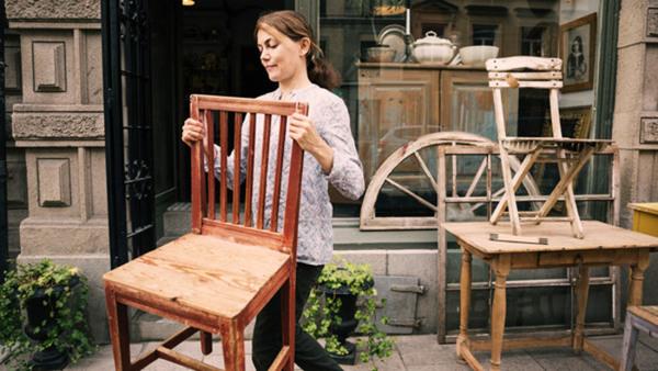 Måla möbler återbruksworkshop Nyhet