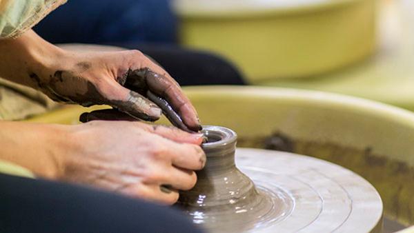 Drejning och lertekniker Helg