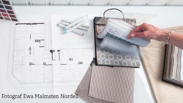 Inredningsarkitektur - rum, form, färg