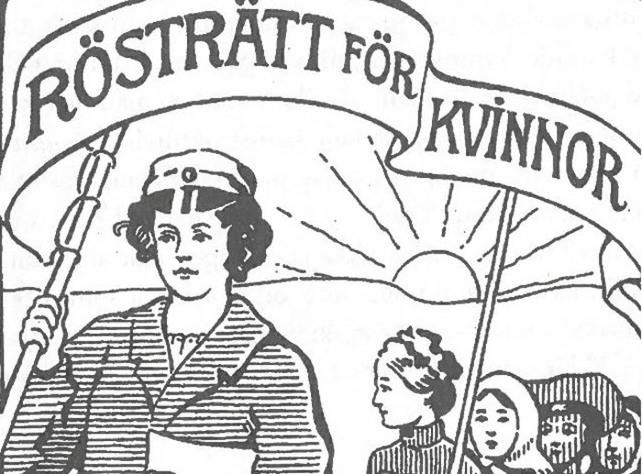 Kvinnor som historiska aktörer för rösträtt