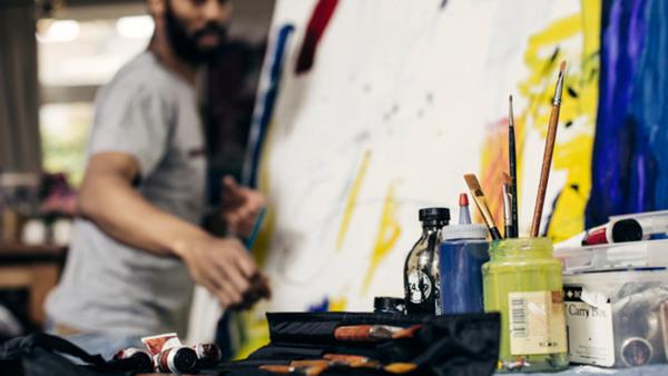 Teckning och måleri - kvällslinjen VT 20