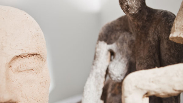 Skulptur, modellstudier, veckokurs augusti