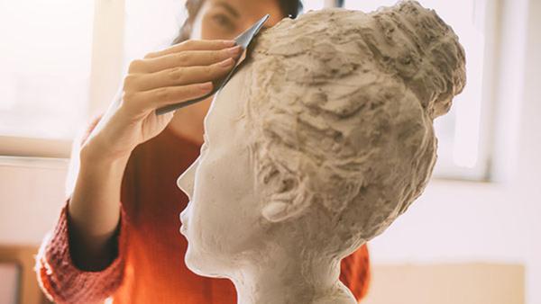 Skulptera ett huvud, helg - NYHET!