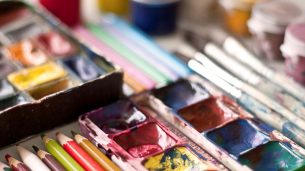 Akvarell, grund, helg