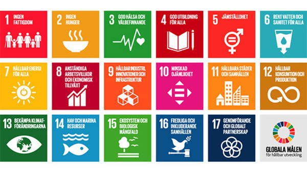 De globala målen för hållbar utveckling