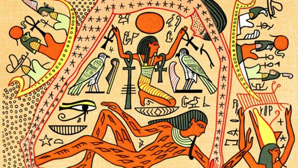 Världen enligt de gamla egyptierna