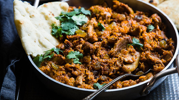 Vegetarisk indisk matlagning grund