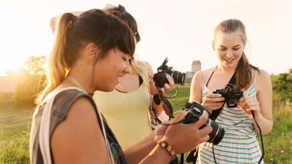 Foto för ungdomar, 10-12 år HÖSTLOV