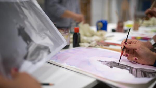Måleri- och Teckningskurs