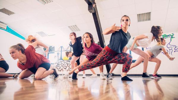Danslägret, gruppen för 11 år