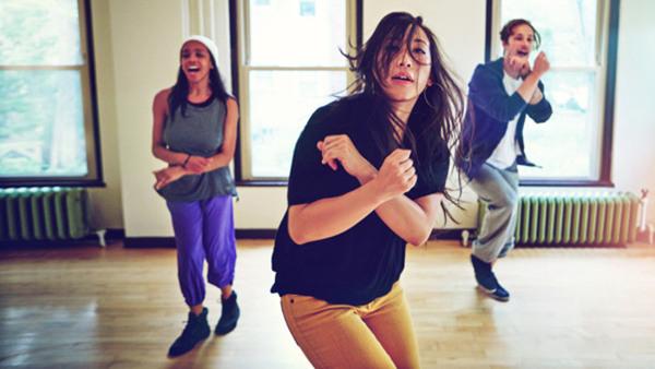 Danslägret, gruppen för 15-16 år