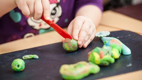 Make your own ecological play-dough