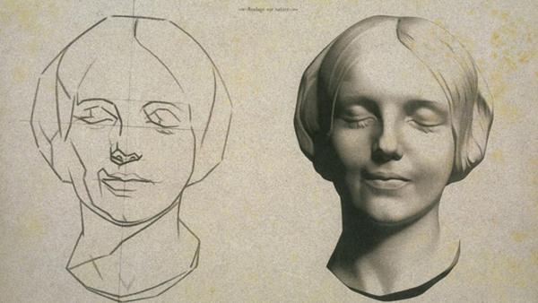 Klassiskt Porträttskulptur -veckoslutskurs