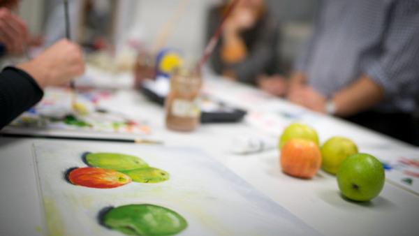 Akvarellmåleri - nybörjare