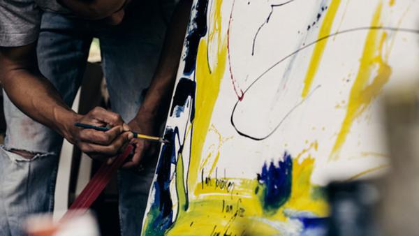 Akrylmåleri - nybörjare