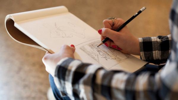 Berättande teckning, tis em