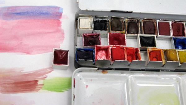 Akvarell grund