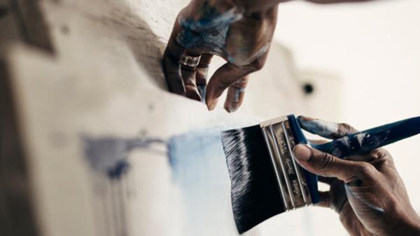 Bas Akrylmåleri - Fokus på volym, djup, rumslighet