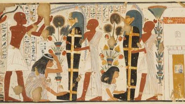 Döden i det gamla Egypten