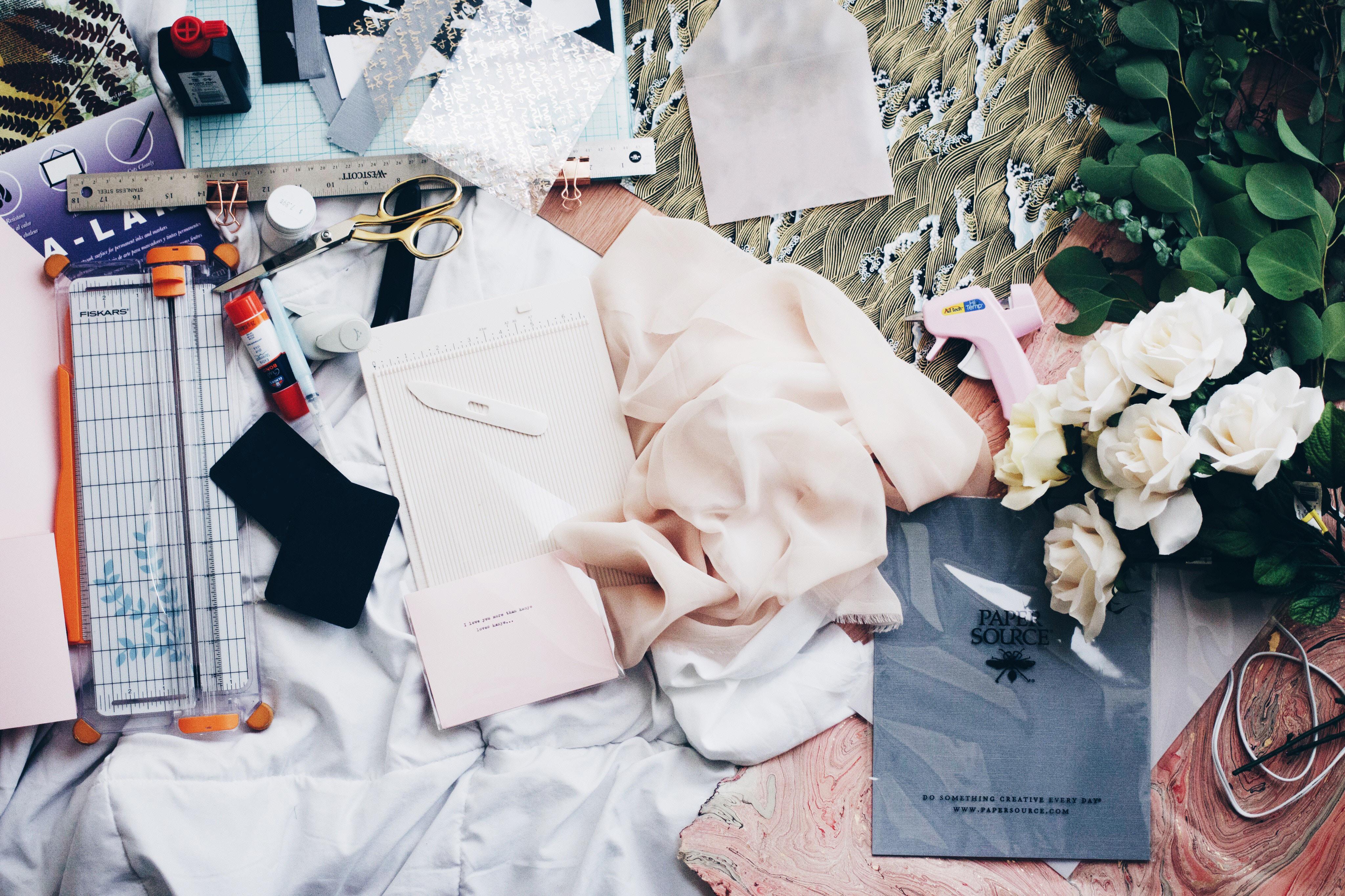Mönsterkonstruktion klänning och kjol