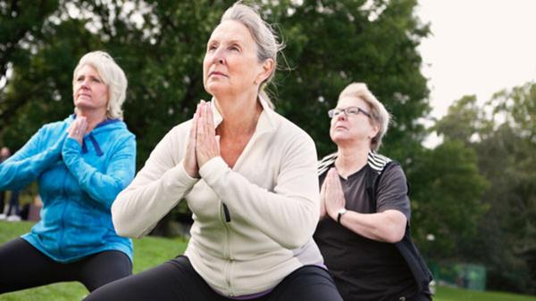 Heldagskurs i yoga och meditation