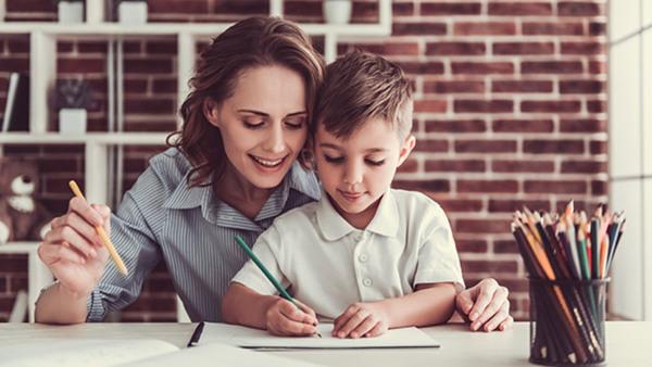Serieteckning för barn och föräldrar Nyhet