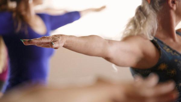 Yogakonst på Abecita Konstmuseum