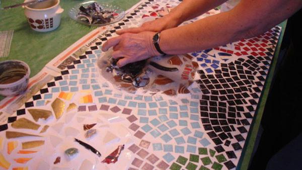 Italienska A2  Skapa i mosaik & konversera