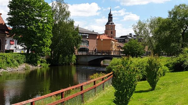 Konstfulla och konstiga byggnader i Falun