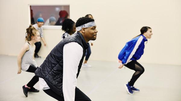 Bana kongo- dansgrupp