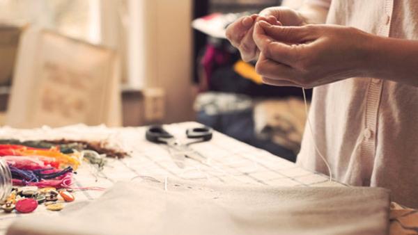 Förnya ett plagg – Workshop