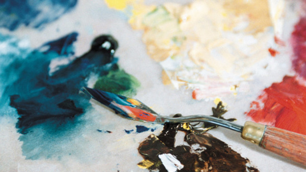 Akvarellmålning, helg