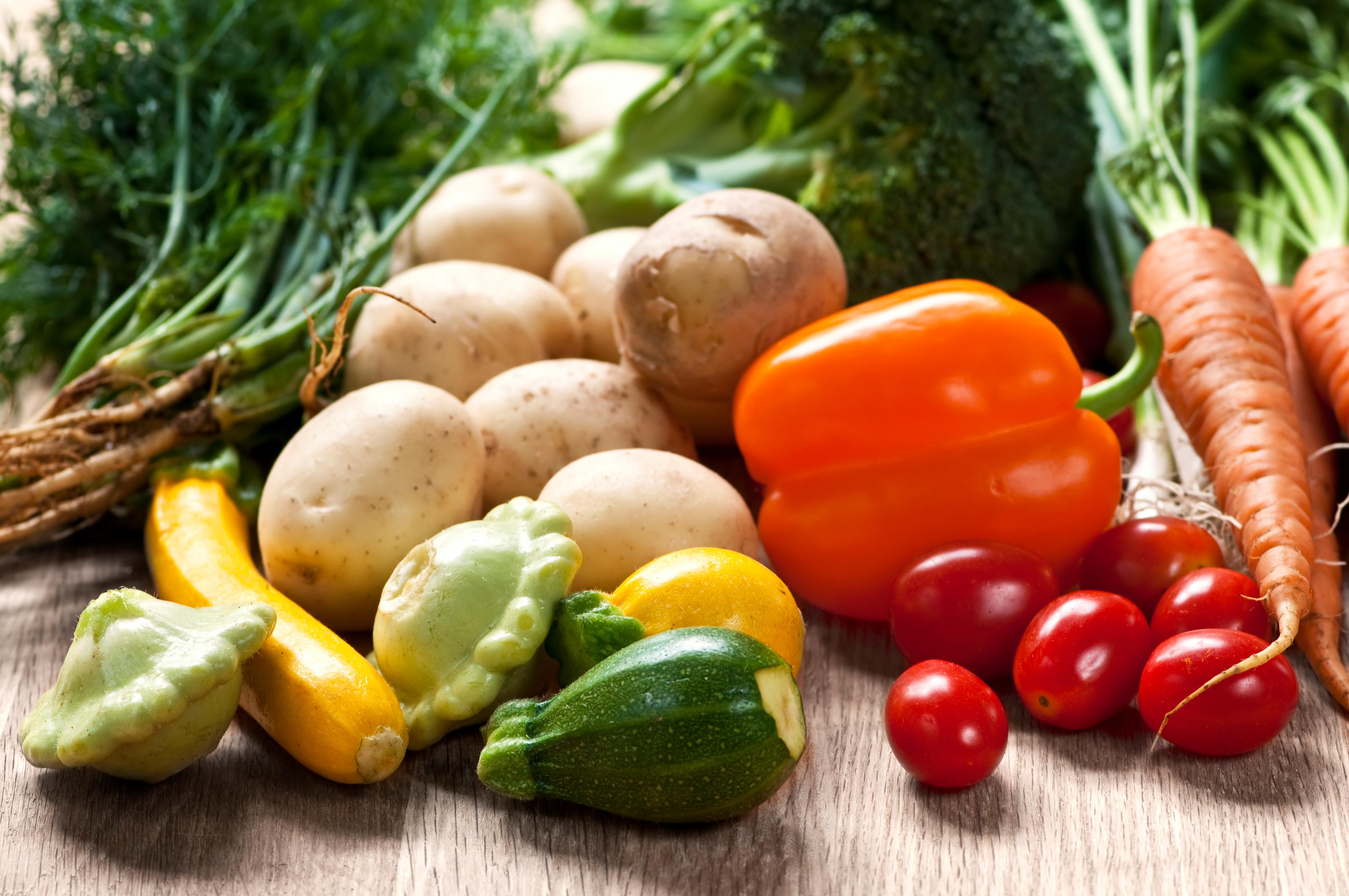Odla för hållbarhet -Grönsaker
