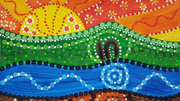 Aboriginal art - Dot Painting