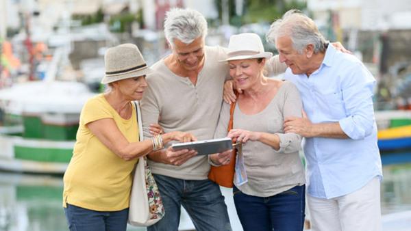 Bli vän med din smartphone/surfplatta, 65+