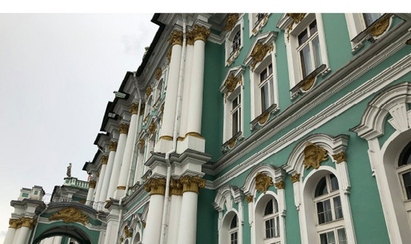 Intensiv ryska i St. Petersburg