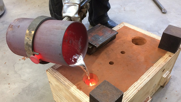 Gjutkurs i aluminium för nybörjare