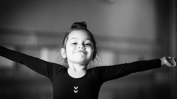 Ballet 3 y, in English Ievgeniia Iashchuk
