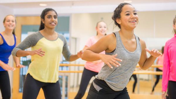 Jazzdans tonår (14-16 år) fortsättning
