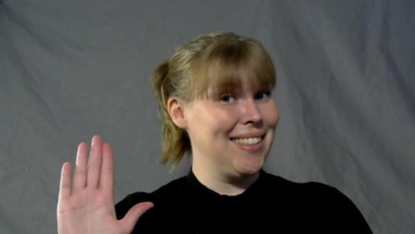 Teckenspråk fortsättning - distans