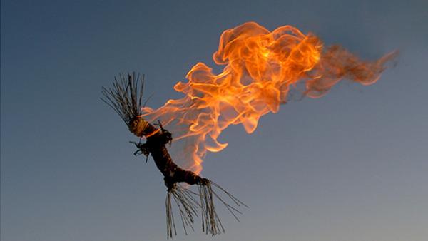 Gör din egen eldskulptur!