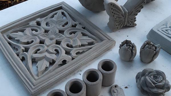 Skapa i betong workshop
