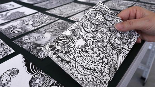 Teckning och illustration
